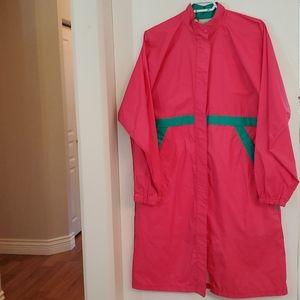 Vintage L-XL  Rain Coat Wind Breaker